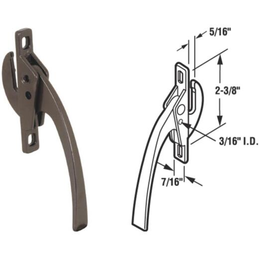 Slide-Co Bronze Casement Locking Handle