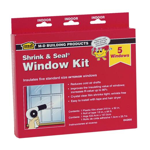 M-D  210 In. x 62 In. Indoor Window Insulation Kit