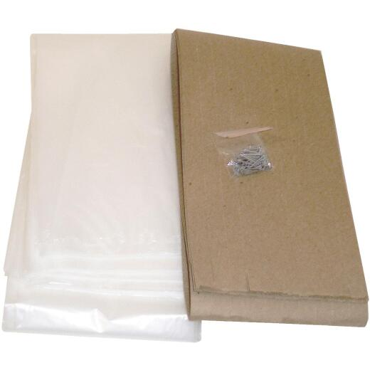 Do it Outdoor 3 Ft. x 6 Ft. x 1. 25 mil Thick Window Insulation Kit, (4-Pack)