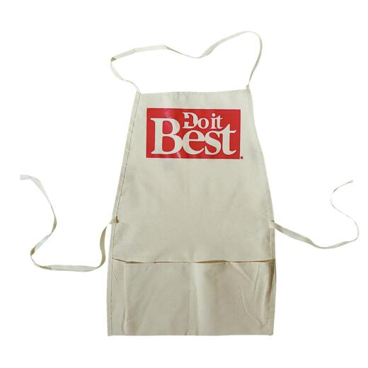 Do it Best Heavy-Duty Canvas Bib Apron