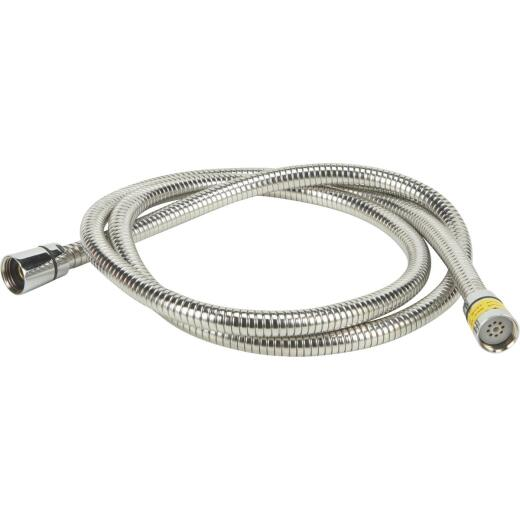 Home Impressions Stainless Steel 60 In. To 82 In. Extendable Shower Hose