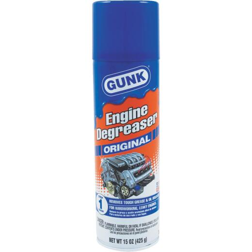 Gunk Original 15 Oz. Aerosol Engine Cleaner/Degreaser
