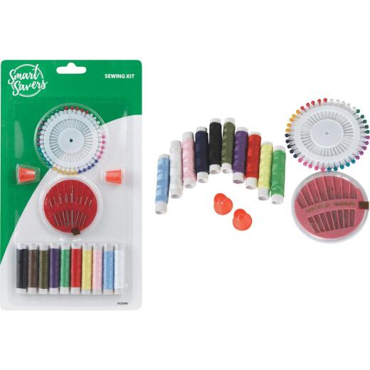 Smart Savers 14-Piece Travel Sewing Kit