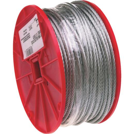 Campbell 1/8 In. x 500 Ft. Galvanized Wire Cable