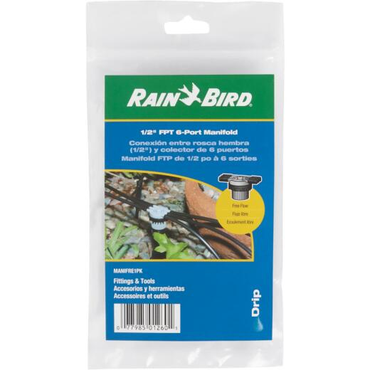 Rain Bird 6-Port Free Flow Manifold