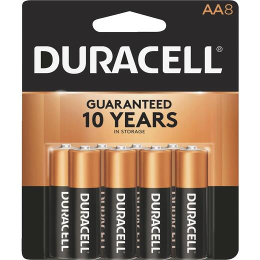 Duracell CopperTop AA Alkaline Battery (8-Pack)