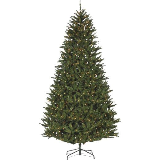 Sterling 9 Ft. New England Pine 1100-Bulb Clear Incandescent Prelit Artificial Christmas Tree